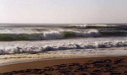Mientras miro las nuevas olas