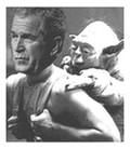 Jorge Arbusto, asesorado por Yoda