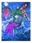 El violinista azul