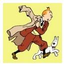 Tintin y su perro Milú