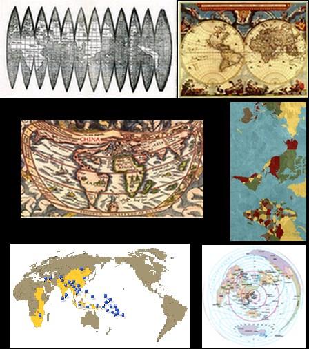 La relatividad de la cartografia