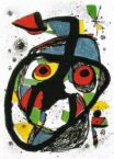 Rostro asimétrico, según Miró