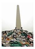 El Obelisco, superado por la basura y el hedor