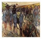 Trabajadores de regreso a casa, por EdvardMunch