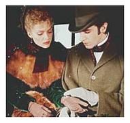 Michelle Pfeiffer y Daniel Day Lewis en La edad de lainocencia