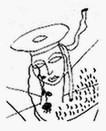 Dibujo hecho por el mismo Lorca