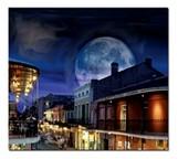 Luna sobre la calleBourbon