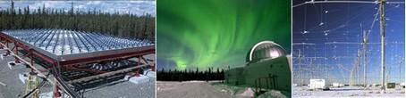 Programa de alteración climática. Imágenes extraidas del sitio deHAARP