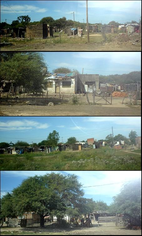 Fotos tomadas el sábado 16 de febrero en las afueras de Resistencia,Chaco