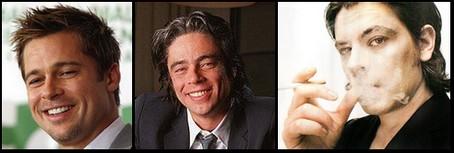 Pitt, del Toro y Biolay... ¿Separados al nacer?