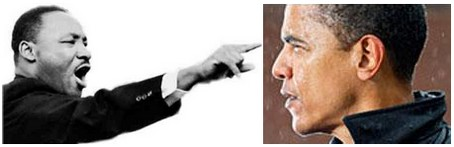 ¿Obama, sucesor de Martin Luther King?