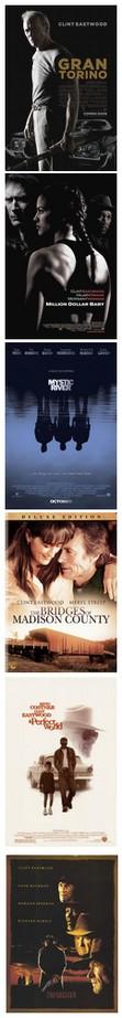 Películas de Eastwood, citadas en este post