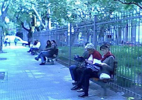 Los belgranenses, excluidos de su propia plaza