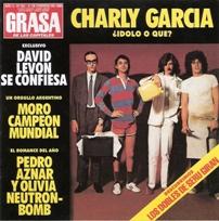La portada del disco, parodia de Gente