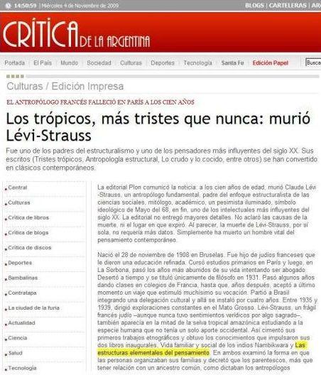 El caso argentino también existe (¡cómo no!).