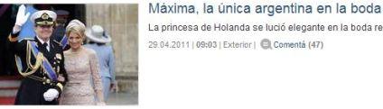Una noticia de último momento, para La Nación.