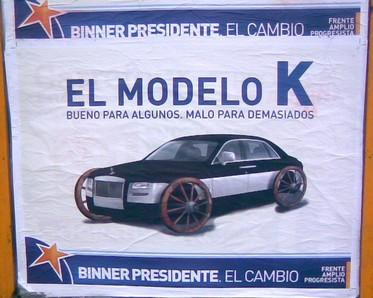 Afiche antiK del FAP..