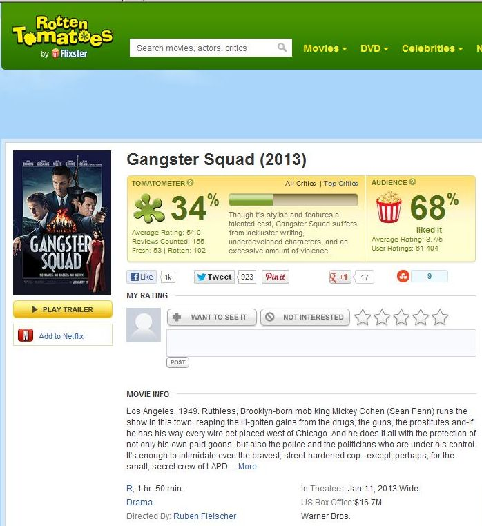 dhoom 3 2013 rotten tomatoes - 698×762