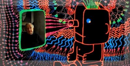 Noam Chomsky animado, otra ocurrencia de MichelGondry