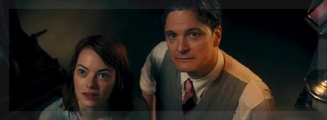 Emma Stone y Colin Firth, a cargo de los roles protagónicos: la medium Sophie y el mago Stanley.