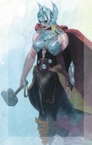 La que posea este martillo, si es digna, tendrá el poder de Thor.