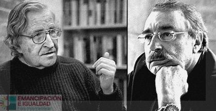 Ramonet entrevista a Chomsky para la televisiónargentina