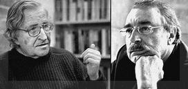 Quién habría imaginado a Noam Chomsky en nuestra pantalla chica tiempos de ATC.