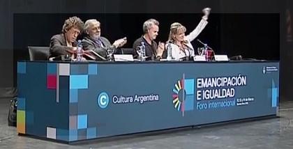 Syriza, Podemos, Sinn Féin, juntos en la Ciudad de BuenosAires