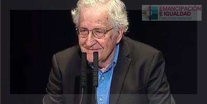"""En Buenos Aires, Noam Chomsky volvió a desenmascarar a las """"plutocracias globales que se hacen llamar democracias"""""""