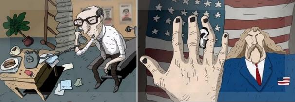 Rod Rosse y Cara de Muerte. Clic en la imagen para agrandarla.
