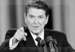 Ronald Reagan vuelve a ser objeto de estudio, esta vez para investigadores atentos a la relación entre Alzheimer y lenguaje.
