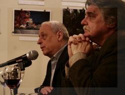 Horacio Verbitsky y Horacio González, juntos en la presentación del libro