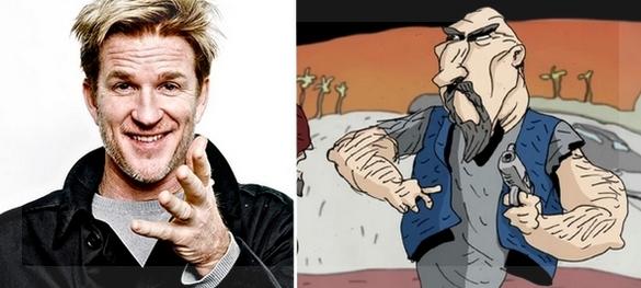 Matthew Modine le prestará su voz al motoquero Sid.