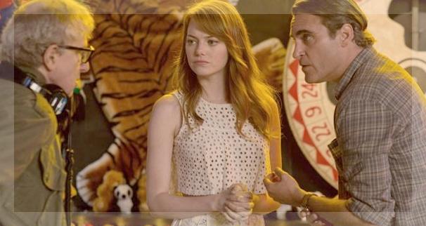 Woody Allen les confió a Joaquin Phoenix y Emma Stone los roles protagónicos de 'Irrational man'.