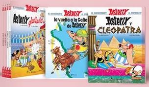 Primeros álbumes disponibles de la edición argentina.