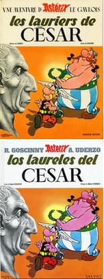 Una buena cantidad de correcciones surgió de la comparación entre las ediciones francesa y española de este álbum.