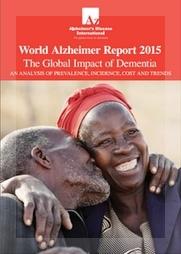 Portada del informe que la Alzheimer's Disease International publicó el 25 de agosto.