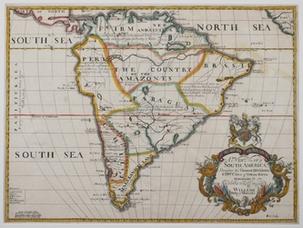 Mapa publicado en Oxford en 1690, y extraído del sitio Raremaps.com. Clic para ampliar.