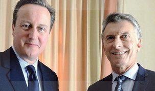 """Mauricio Macri se encontró con David Cameron en el Foro de Davos. """"EL Reino Unido no cambiará su postura ante Malvinas"""" le advirtió el primer ministro británico le advirtió a nuestro presidente"""