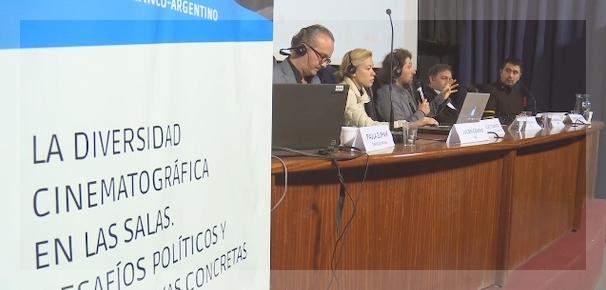 El seminario franco-argentino se realizó en laEscuela Nacional de Experimentación y Realización Cinematográfica de Buenos Aires.