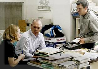 Integrantes del equipo Spotlight, en la película de Tom McCarthy.