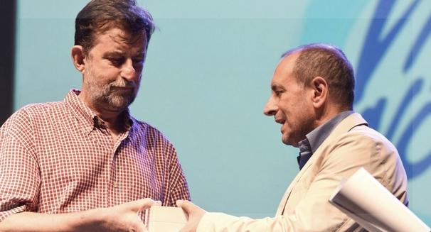 Moretti recibió el premio Exploradores del Futuro el 30 de julio pasado. Foto de Federico de Marco.