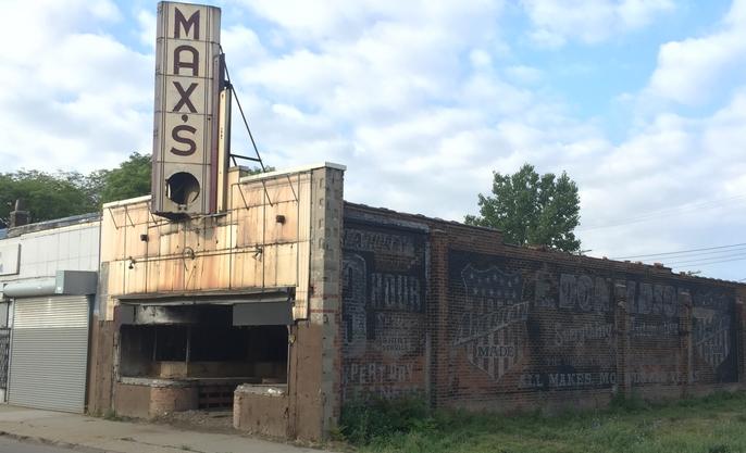 Calle presuntamente ambientada para el film, según adelanto del el Detroit Metro Times.