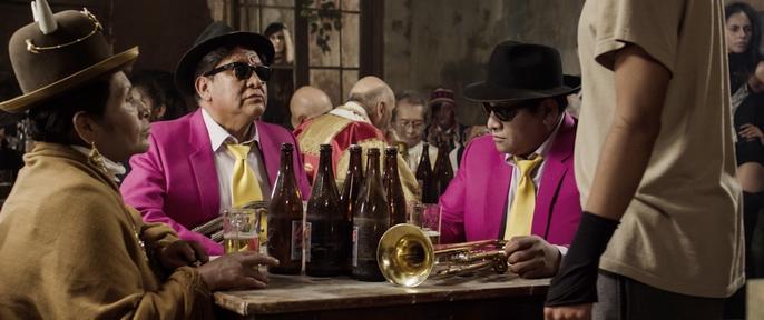 Al cine boliviano,salud