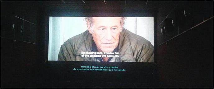 El cine subtitulado, también enpeligro